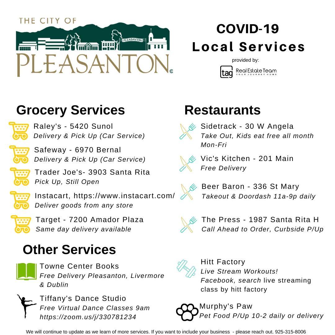 Pleasanton CoronaVirus Quarantine Guide